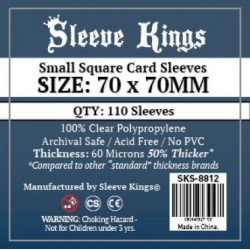 Sleeve Kings Small Square...