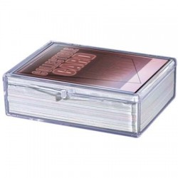 Hinged Clear Card Storage...