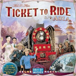 Ticket to Ride Map Volume 1...