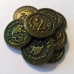 Scythe - Metal Coins ($2)