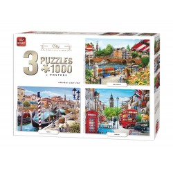 Puzzle King - 3in1 City...
