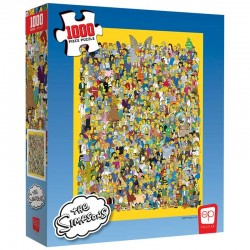 Puzzle The Simpsons - Cast...