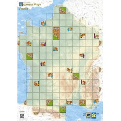 Carcassonne Maps: France
