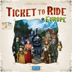 Ticket to Ride: Europe -...