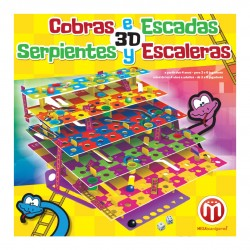 Cobras e Escadas 3D