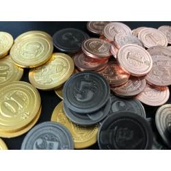 50 Metal Industrial Coins...